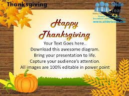 happy thanksgiving turkey celebrations powerpoint templates