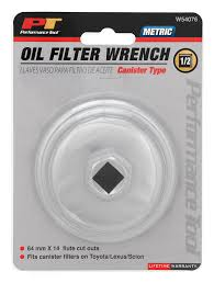 performance lexus toyota amazon com performance tool w54076 21mm canister type oil filter