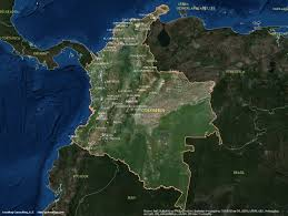 India Satellite Map by Colombia Satellite Maps Leaddog Consulting