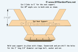 8 Ft Picnic Table Plans Free by Diy Building Plans For A Picnic Table
