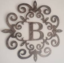 home decor odessa tx decor initial b kirklands wall art metal in brown with white