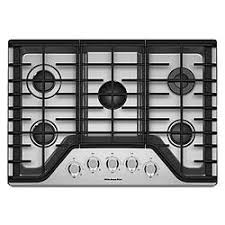 Gas Stainless Steel Cooktop 30 Inch Stainless Steel Gas Cooktop Sears Outlet