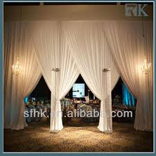 Curtains Wedding Decoration Wedding Decoration Curtains With Adjustible Pipes Buy Wedding