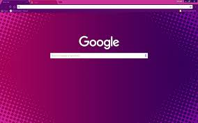 chrome themes cute free free purple halftone hd google chrome theme download