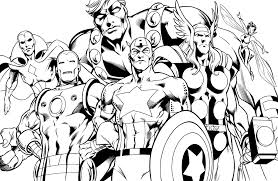 free coloring pages super heroes super heroes coloring pages