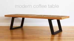 Woodworking Making A Coffee Table by Build A Mid Century Modern Coffee Table Nelson Bench