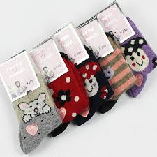 Toddler Wool Socks Baby Socks Autumn Winter Style Children Wool Socks Baby Cartoon