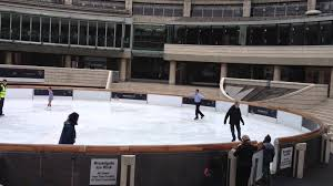 broadgate circle ice rink a star in the making youtube