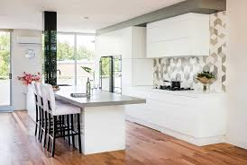 brilliant white how a beautiful new kitchen transformed this