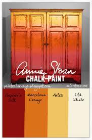 Annie Sloan Chalk Paint On Kitchen Cabinets 426 Best Chalk Paint Palette Images On Pinterest Colors Annie