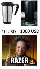 Release The Kraken Meme Generator - 10 usd 1000 usd razer history com memegenerator net razer meme on