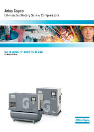 ga 15 22 ga 11 30 ga 15 30 vsd atlas copco oil injected rotary