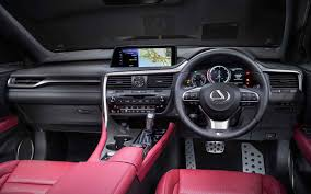 2018 lexus rx 350 f sport interior usautoblog usautoblog