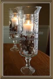 diy dollar tree hurricane candle holder youtube