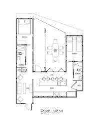 Cottage Floor Plans Canada New Design Container Home Plan Stunning Floor Plans Pertaining To