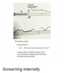 Clarinet Player Meme - clarinet improvisatory durnesque esque clarinet nerd17 do l do l