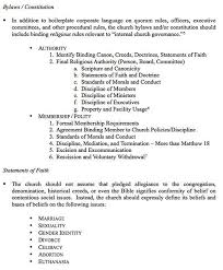 church bylaws template church bylaws template best example of
