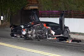 Lamborghini Aventador Off Road - chris brown responds after his lamborghini was found wrecked in la