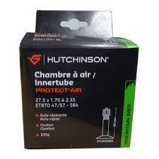 chambre à air vtt chambre à air de vtt hutchinson protect air 27 5 x 1 70 2 35 valve