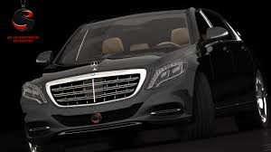maybach 2015 benz maybach s600 2015 3d dwg