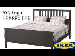assembling a hemnes ikea bed youtube