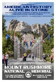 South Dakota Travel Posters images Mount rushmore national memorial national park posters jpg