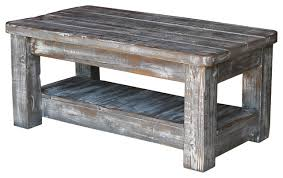Grey Wood Coffee Table Coffee Tables Rustic Wood For Popular Of Modern Intended Table