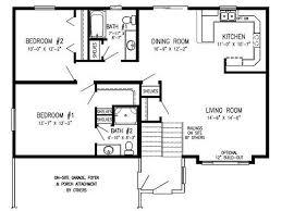 bi level house floor plans plans