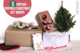 vintage gift wrap gift wrap ideas 5 vintage styles crafts unleashed