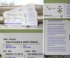 wedding invitations kansas city details about 1 vintage shabby chic style ticket wedding