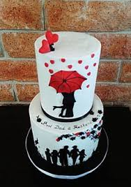 father and son silhouette cake the sweetery cakes pinterest
