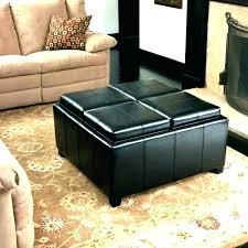 storage ottoman coffee table with trays storage ottoman with tray flip top ottoman coffee table storage