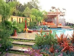 Garden Style Home Decor Coolest Mediterranean Garden Design With Additional Home Decor