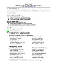 Sample Resume Office Manager by Resume Objective For Administrative Assistant Berathen Com