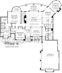 floor plans with great rooms home plan the hollowcrest by donald a gardner architects