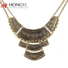 ethnic statement necklace images Collier ethnique 2017 fashion necklace ethnic colar vintage silver jpg