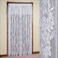 White Ruffled Curtains by Living Room Wonderful Sheer White Ruffle Curtains Priscilla U0027s