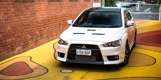 mitsubishi lancer evo modified 2016 mitsubishi lancer evolution x review final edition caradvice