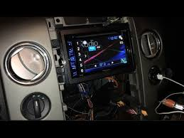 2004 2008 lincoln mark lt ford f 150 stereo install and backup
