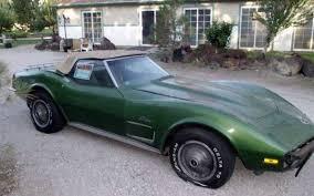 73 corvette stingray for sale 1973 corvette stingray convertible project