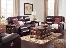 Leather Sofa In Living Room Decorating Burgundy Leather Sofa Loccie Better Homes Gardens Ideas