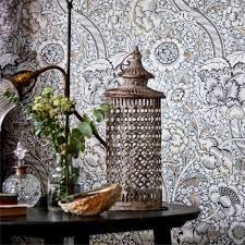 designer wandle morris and co wandle indigo madder wallpaper 216420