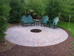 Backyard Fire Ring by Excellent Ideas Fire Pit Pavers How To Make A Backyard Fire Pit