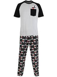 disney mickey mouse mens mickey mouse pyjamas co uk clothing