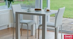 Modern White Dining Room Set by Fern And Tori Kitchen Dining Set White Gloss Kitchen Square