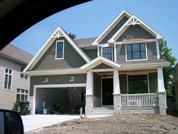 attractive exterior house paint colors with modest homes amazing