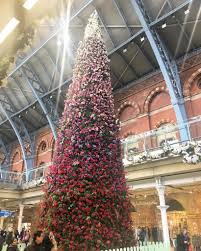 st pancras tree has serious flower power secret