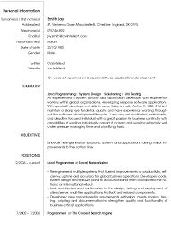 Best Resume Format For Be Freshers by