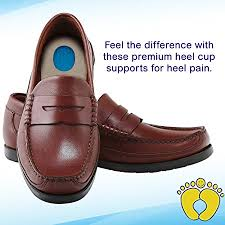 amazon com happyfeet gel heel cups pair best shoe inserts for