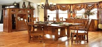 Arts And Crafts Dining Room Set Dining Room